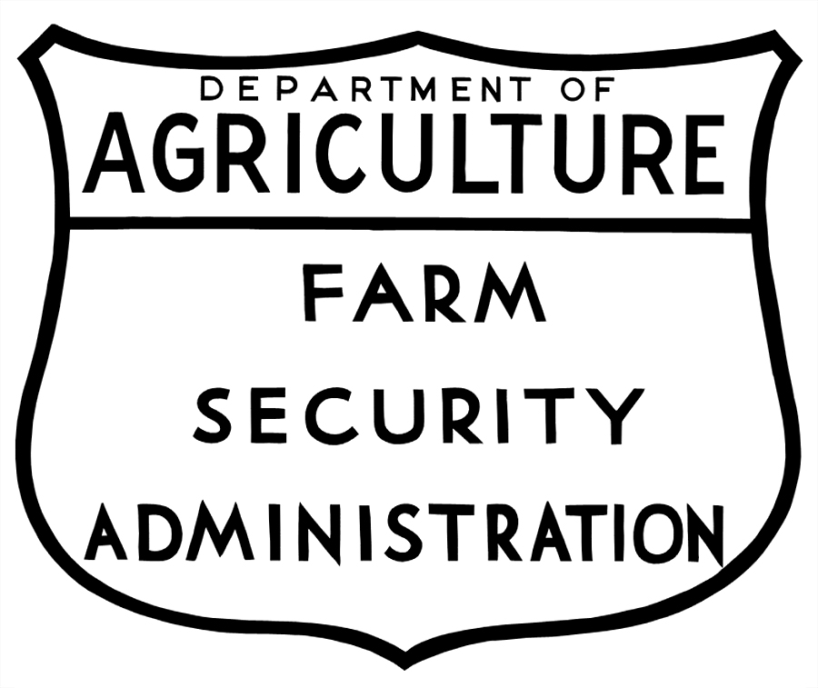 farm security administration logo